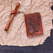 Канцелярские товары handmade. Livemaster - original item Cover for Recordman documents. Handmade.