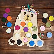 Куклы и игрушки handmade. Livemaster - original item Tactile boards