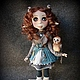 Коллекционные куклы ручной работы. Ярмарка Мастеров - ручная работа. Купить Счастье прилетело.. Handmade. Фавн, лесная тема