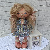 Кукла текстильная купить. Кукла текстильная 28 см.Текстильная интерьер