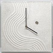 """Для дома и интерьера ручной работы. Ярмарка Мастеров - ручная работа """"МАГИЯ СТИЛЯ"""" из песка авторские часы. Handmade."""