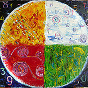 Картины и панно ручной работы. Ярмарка Мастеров - ручная работа Круглый год. Handmade.