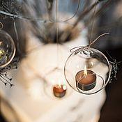 Материалы для творчества handmade. Livemaster - original item Glass candle holder