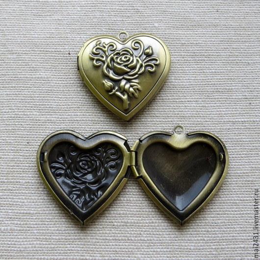 Основа для медальона сердце