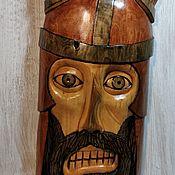 Маски ручной работы. Ярмарка Мастеров - ручная работа Воин в рогатом шлеме. Handmade.