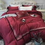 Для дома и интерьера ручной работы. Ярмарка Мастеров - ручная работа Комплект белья Кофе в постель. Handmade.