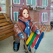 Куклы и игрушки handmade. Livemaster - original item Toys: Cotton toy on the Christmas tree.. Handmade.