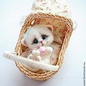 Куклы и игрушки ручной работы. Ярмарка Мастеров - ручная работа котенок :). Handmade.