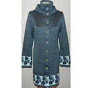 Одежда handmade. Livemaster - original item Knitted coat with hood. Handmade.