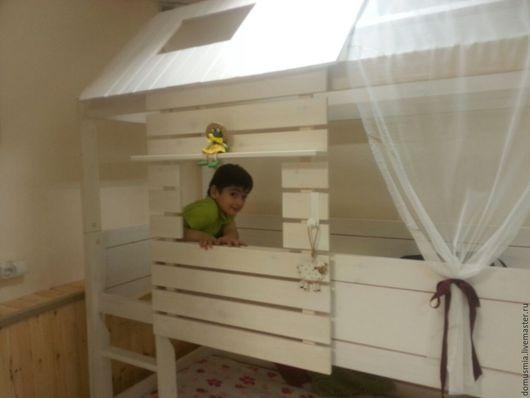 """Детская ручной работы. Ярмарка Мастеров - ручная работа. Купить Кровать-Домик """"Garden House"""". Handmade. Белый, винтаж"""