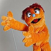 Куклы и пупсы ручной работы. Ярмарка Мастеров - ручная работа В стиле Маппет. Оранжевый друг.. Handmade.
