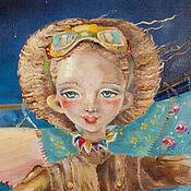 Картины и панно ручной работы. Ярмарка Мастеров - ручная работа Мечтатели. Handmade.