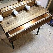 Столы ручной работы. Ярмарка Мастеров - ручная работа Гримерный (макияжный) консольный столик LOFT. Handmade.