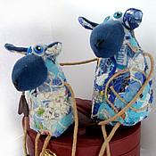 Куклы и игрушки ручной работы. Ярмарка Мастеров - ручная работа Овечки на счастье. Символ 2015 года. Handmade.