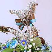 """Подарки к праздникам ручной работы. Ярмарка Мастеров - ручная работа Птички """"Кофейные"""". Handmade."""
