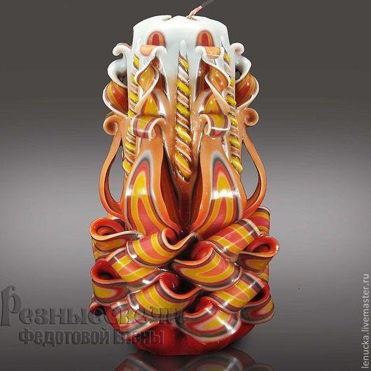 Свеча резная серия `Танец огня`