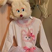 Одежда ручной работы. Ярмарка Мастеров - ручная работа Костюм зайчика с пышной юбкой. Handmade.