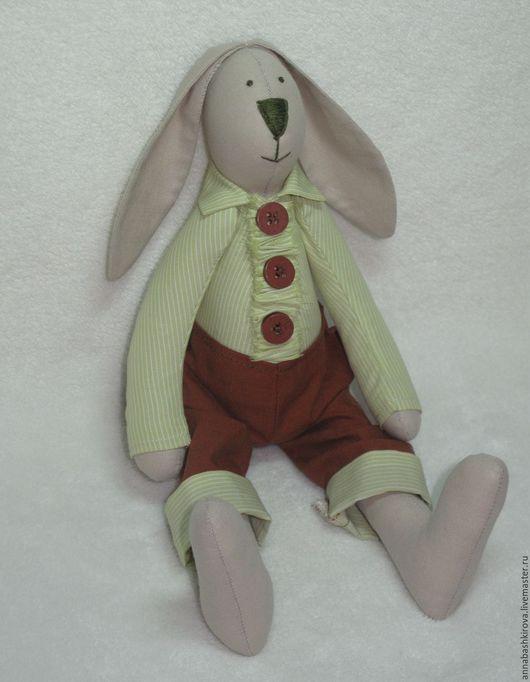Куклы Тильды ручной работы. Ярмарка Мастеров - ручная работа. Купить Яша. Handmade. Салатовый, игрушка ручной работы