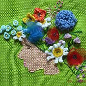 Одежда handmade. Livemaster - original item sweater girl summer cardigan summer knitted female author. Handmade.