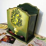 """Домики ручной работы. Ярмарка Мастеров - ручная работа Чайный домик """"Лимонное дерево"""". Handmade."""