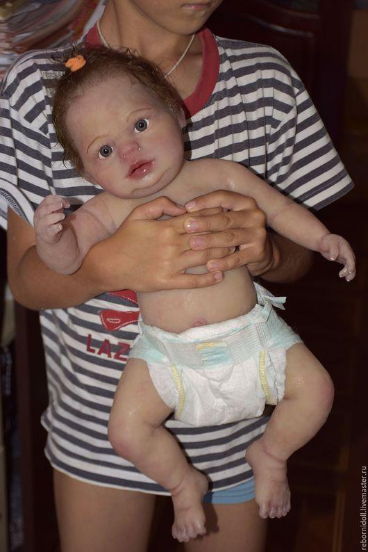 Куклы-младенцы и reborn ручной работы. Ярмарка Мастеров - ручная работа. Купить Кукла реборн силиконовая Машенька. Handmade.