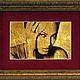 Персональные подарки ручной работы. Ярмарка Мастеров - ручная работа. Купить Портрет на золоте, эксклюзивные подарки на заказ. Примеры работ.. Handmade.