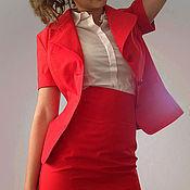 Одежда ручной работы. Ярмарка Мастеров - ручная работа Летний костюм из хлопка. Handmade.