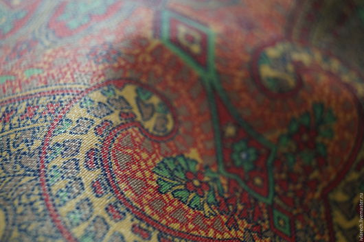 """Шитье ручной работы. Ярмарка Мастеров - ручная работа. Купить Ткань- хлопок для одежды и творчества """" Восточный узор"""". Handmade."""