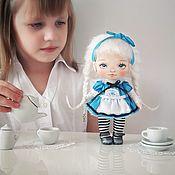 Мягкие игрушки ручной работы. Ярмарка Мастеров - ручная работа Кукла Алиса.. Handmade.