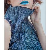 Одежда ручной работы. Ярмарка Мастеров - ручная работа Топ из тонкого войлока 17025. Handmade.