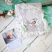Канцелярские товары ручной работы. Ярмарка Мастеров - ручная работа Дневник мамы и папы Для малыша. Handmade.