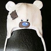 Работы для детей, ручной работы. Ярмарка Мастеров - ручная работа Шапочка мишка Тедди. Handmade.