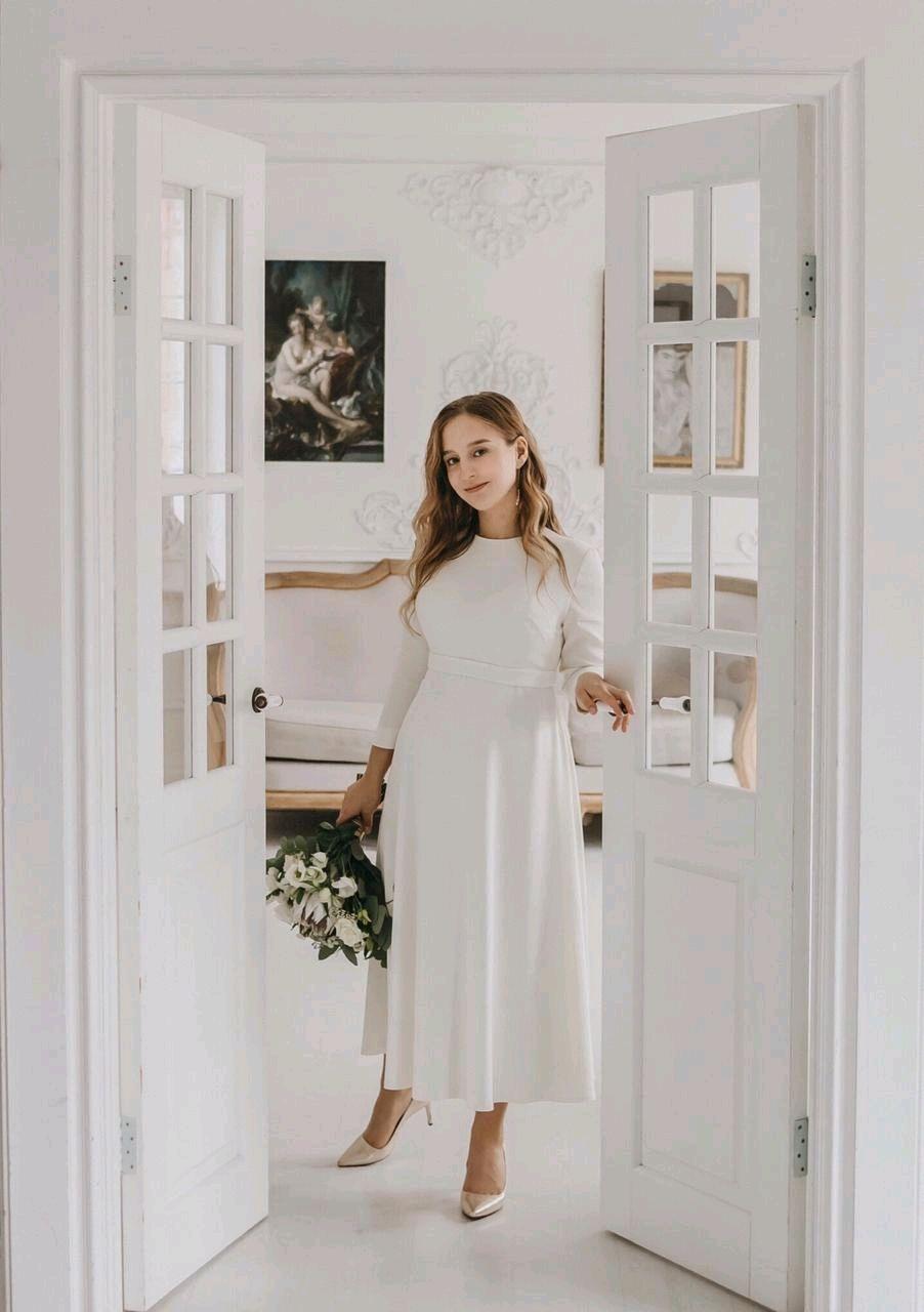 Свадебное платье для беременных, Платья, Москва,  Фото №1