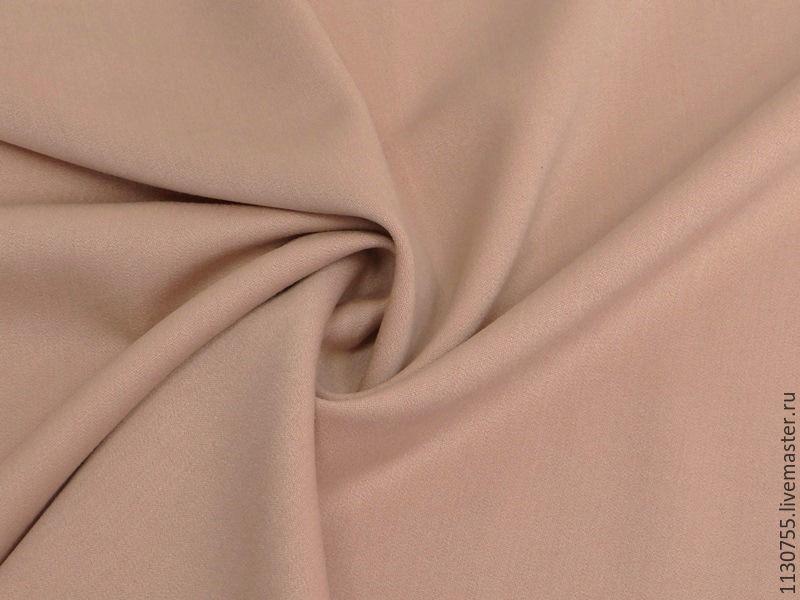 ткань  вискоза сатин  персиковый стрейч, Ткань, Москва, Фото №1