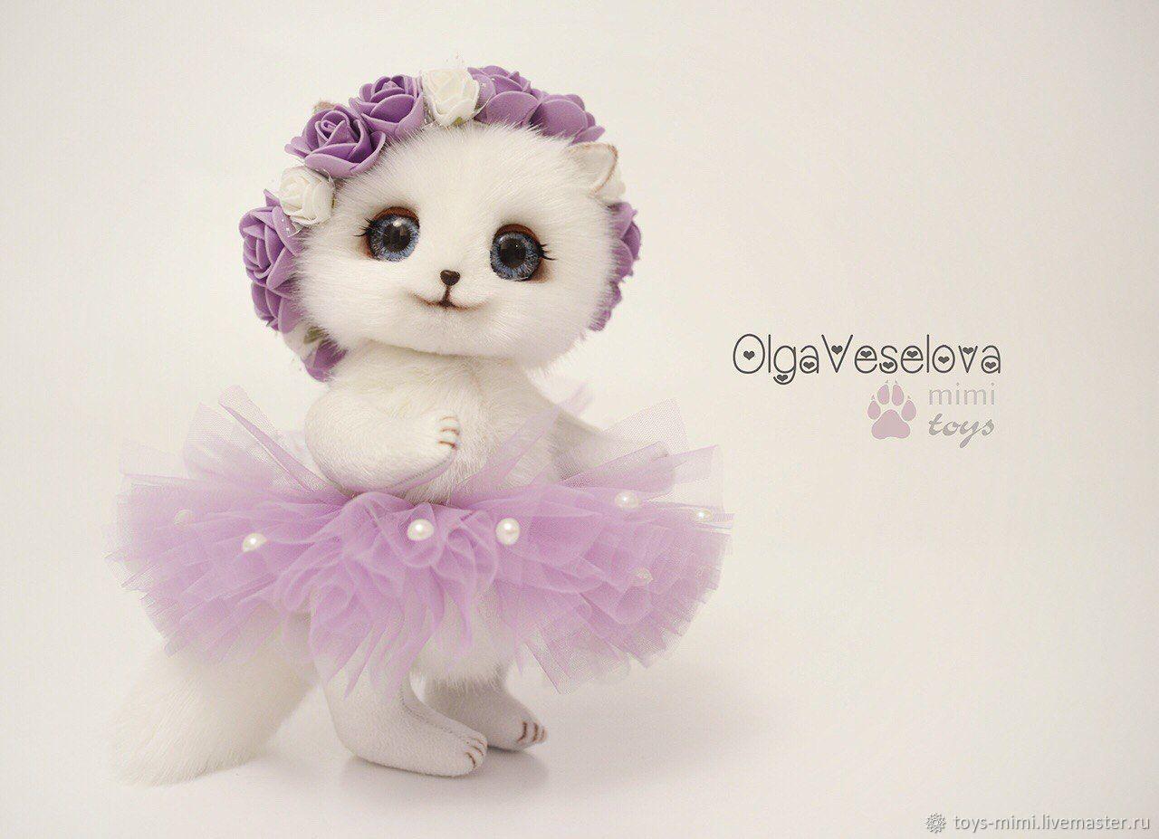 Кошечка Лилея игрушка, Мягкие игрушки, Оленегорск,  Фото №1