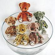 Куклы и игрушки ручной работы. Ярмарка Мастеров - ручная работа Мишки Тедди мини-8см.. Handmade.