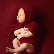 Комплекты одежды ручной работы. Ярмарка Мастеров - ручная работа Костюмчик для новорожденного. Handmade.