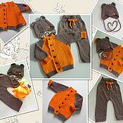 Работы для детей, handmade. Livemaster - original item Set knitted. Handmade.