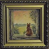 """Картины и панно ручной работы. Ярмарка Мастеров - ручная работа """"Рассвет"""". Handmade."""