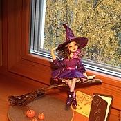 Куклы и игрушки ручной работы. Ярмарка Мастеров - ручная работа Ведьмочка раз, ведьмочка два...три, четыре.... Handmade.