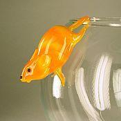 Куклы и игрушки handmade. Livemaster - original item Glass figurine hanging figurine mouse Seraphim. Handmade.