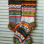 Аксессуары handmade. Livemaster - original item knitted socks