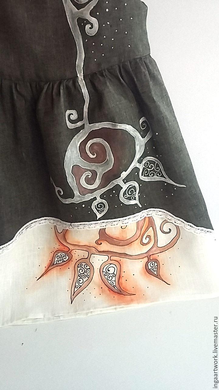 Роспись платьев