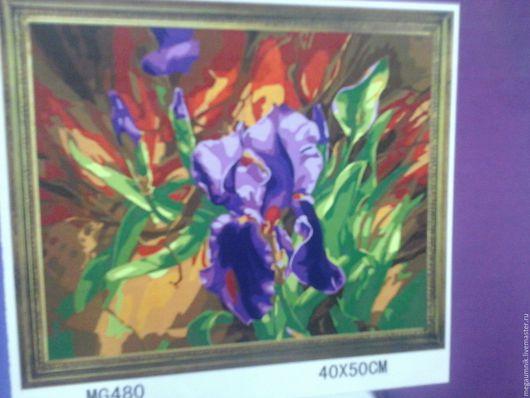 Другие виды рукоделия ручной работы. Ярмарка Мастеров - ручная работа. Купить Картины по номерам. Handmade. Комбинированный, картина для интерьера