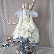 Куклы и игрушки ручной работы. Ярмарка Мастеров - ручная работа Тильда Зимняя фея. Handmade.