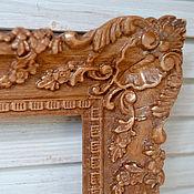"Сувениры и подарки handmade. Livemaster - original item Copy of Copy of Carved wood icon ""St. Sergius of Radonezh"". Handmade."