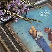 """Для дома и интерьера ручной работы. Ярмарка Мастеров - ручная работа Панно """"Маленькое чудо"""". Handmade."""