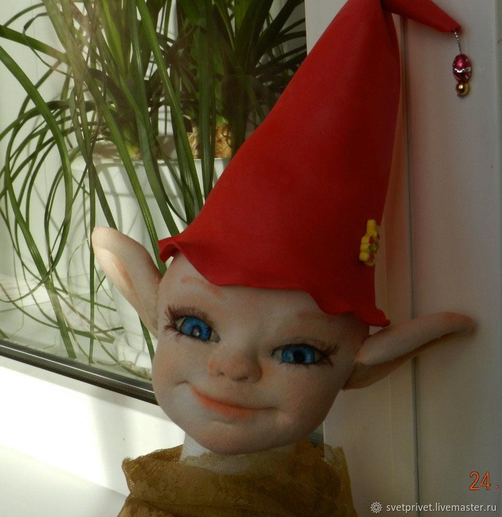 мастер класс куклы из капрона, Портретная кукла, Курган,  Фото №1