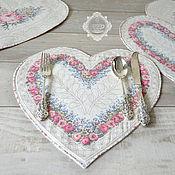 Для дома и интерьера handmade. Livemaster - original item Heart set. Handmade.