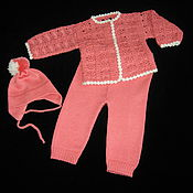 Работы для детей, ручной работы. Ярмарка Мастеров - ручная работа Комплект для новорожденных 3. Handmade.